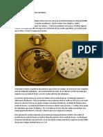 Restauración de Un Reloj Con Calendario