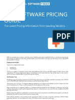 Ehr Software Pricing Guide