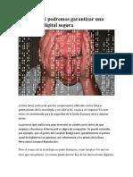 Análisis Así Podremos Garantizar Una Revolución Digital Segura