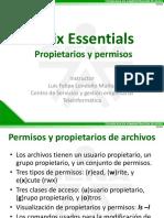 04 Presentacion - Unix Essentials - Propietarios y permisos.pdf