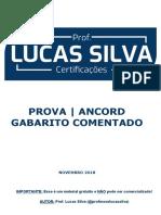Prova ANCORD Lucas Silva 1