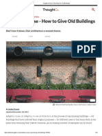 Adaptive Reuse_ New Ways for Old Buildings