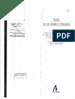 214686254 Teoria de Los Generos Literarios PDF