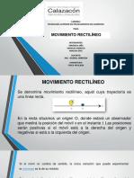 Aplicacion Del Movimiento Rectilineo Grupo #3