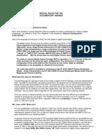 DCP Requerimientos en Festivales Doc Guidelines