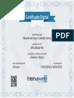 Certificado Android Basico