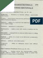 Eng'g Materials