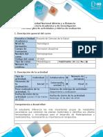 Guía de Actividades y Rúbrica de Evaluación - Fase 4 - Informe Preliminar.