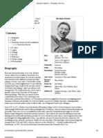 Abraham Maslow - Wikipedia, The Free Encyclopedia
