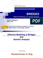 Seismic Modeling and Analysis of Bridges Manila March 2006