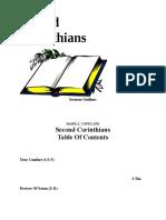 2 Corinthians Sermon Outlines