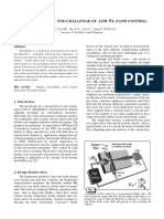 Microfluidics - The Challenge of Low Re Flow Control