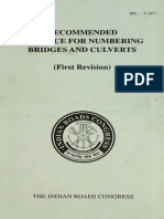 IRC7-2017 Recommended Practice for Numbering Culverts, Bridges and Tunnels (Second Revision).pdf