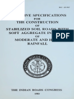 IRC28-1967 Tentative Specifications for the Construction of Stabilised Soil Roads with Soft Aggregate in Areas of Moderate and High Rainfall.pdf