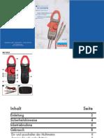 Pinzas Amperimetricas PWFIX KH3321