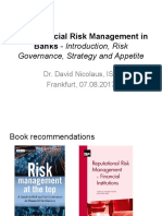 180807_1 Lecture - Introduction, Risk Governance, Strategy and Appetite