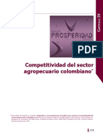 Analisis Competitividad Sector Agropecuario Colombia