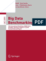 Big Data Benchmarking 2014