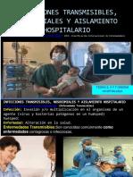 Tema 5, 6 y 7 Infecciones y Aislamiento