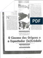 25 - O cinema das origens e o espectador (in)crédulo (Tom Gunning).pdf
