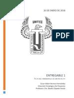 Factores ambientales dentro del Proyecto - Ing. Cesar Aldair Herrera Hernández - UNITEC