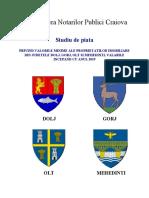 studiu de piata privind valorile minime ale proprietatilor imobiliare din judetele Dolj, Gorj, Olt si Mehedinti valabile incepand cu anul 2019.pdf