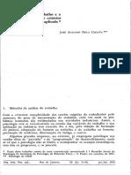 Métodos de Análise de Cargo - Coleta
