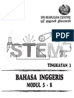 Eng Form 1 Modul 5-8 Cover