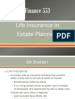 Chapter 11 -Life Insurance in Estate Planning.ppt