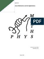 PX262 - Quantum Mechanics