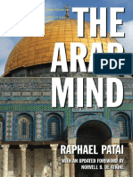 The Arab Mind Raphael Patai 2010