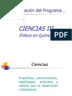 Estructura de Ciencias III