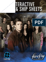 Firefly RPG - Interactive Crew & Ship Sheets