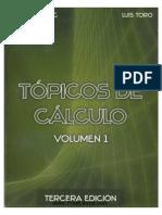 Topicos de Calculo Volumen 1 3ra Edicion