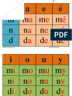 Tableau Syllabique