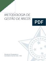 Cgu Metodologia Gestao Riscos 2018