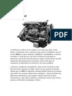 Muchos Motores Son Diesel