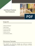 Estructuras textuales