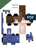 Leon s Kenedy Resident Evil by Animepapertoys-d37l9yg