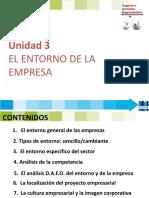 Eie 3 El Entorno y La Competencia - 2018