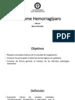Sindrome hemorragiparo