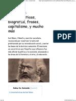 Karl Marx_ Características, BiografÍa, Frases, Capitalismo, y Mucho Más