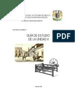 Guía de Estudio V - Historia Económica