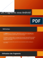 Les Fragments Sous Android