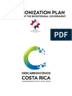 Decarbonization Plan - Costa Rica