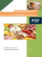 UFCD_3332_Alimentos - Características e Confeção_índice