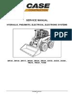 Case Skid Steer Loader Service Manual Pgs 29-987