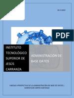 Unidad I_Administrador de Base de Datos (DBA)