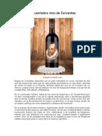 El Ilustrisimo Vino de Cervantes