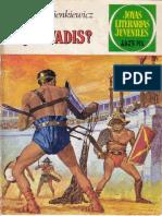 Joyas Literarias Juveniles - Quo Vadis